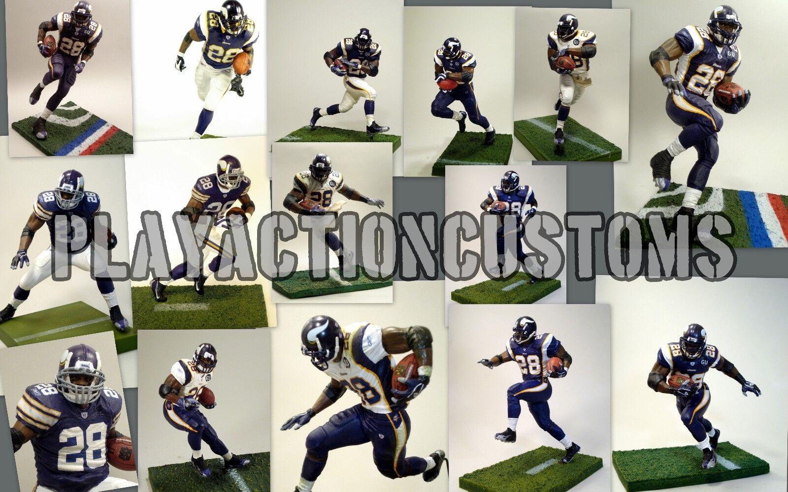 Elección del 1 de Minnesota Vikings Custom Figura De Acción hecho C / Mcfarlane Nfl