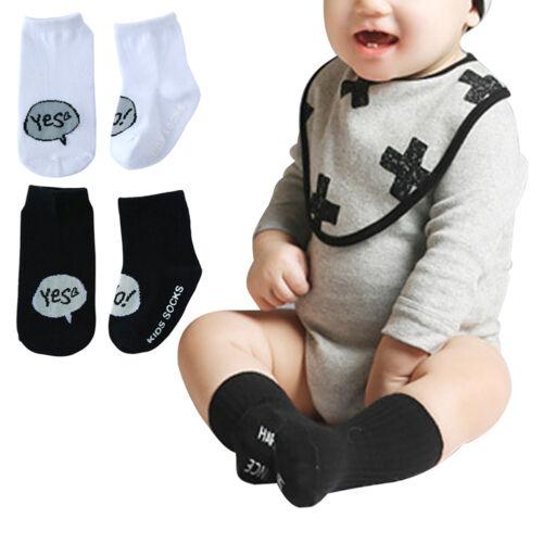 Newborn Cotton Baby Boys Girls Cute Toddler Asymmetry Anti-slip Socks for babies