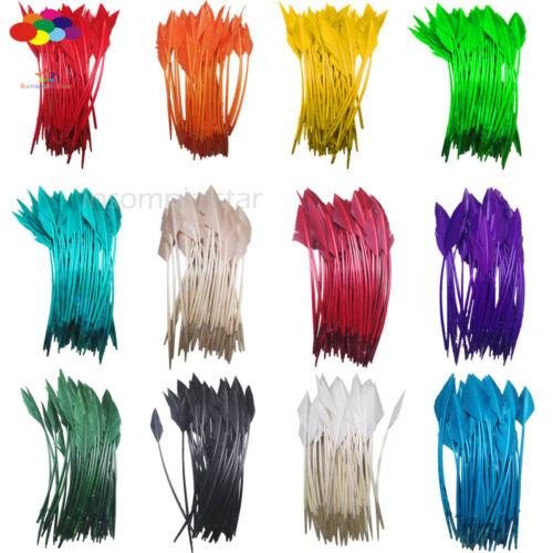 50 pcs purple arrow turkey feathers 25-30 CM//10-12 INCH for jewelry Diy Carnival