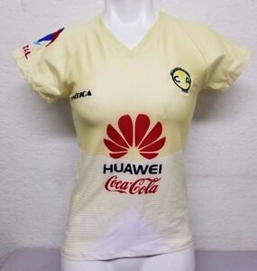 Club America Women s Home Soccer Jersey 2016 Slim Fit Size XS  d1d373ef5d