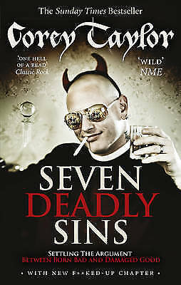 1 of 1 - Seven Deadly Sins by Corey Taylor (English) Paperback Book