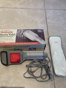 Vintage-Sunbeam-Steam-Valet-Garment-Steamer-10079-Gray-NEW