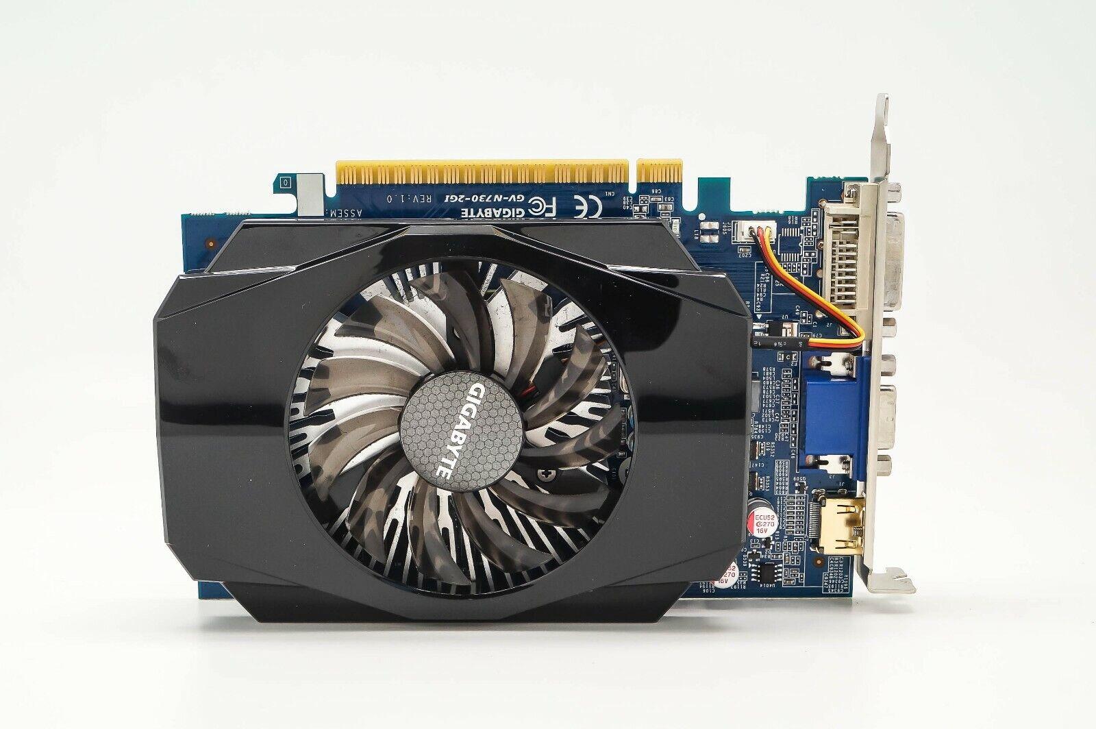 Gigabyte GV-N730-2GI GT730 PCI Video Graphics Card