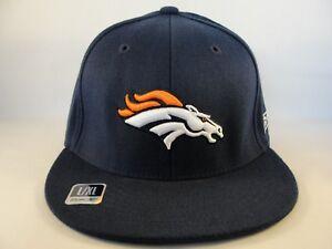 cc667d6f Denver Broncos NFL Reebok Flex Hat Cap Size L/XL Navy 887609638458 ...
