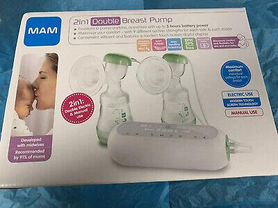 MAM Electric 2-1 Breast Pump