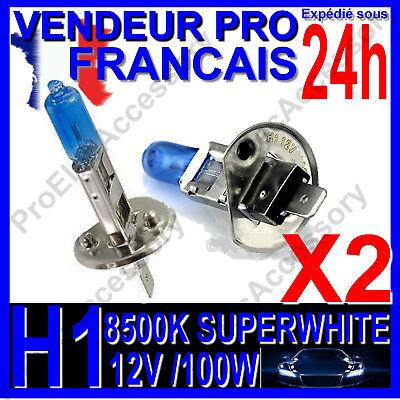 2x h4 8500k 60//55w Xenon look effet optique halogène Ampoules lampes Super White