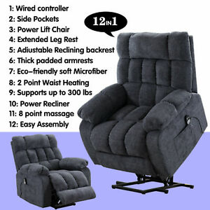 Electric-Massage-Chair-Oversized-Lift-Recliner-Heated-Vibration-Sofa-for-Elderly