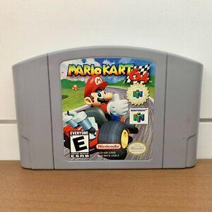 Mario Kart Racing Nintendo 64 N64 Original Authentic Retro Classic - Cartridge