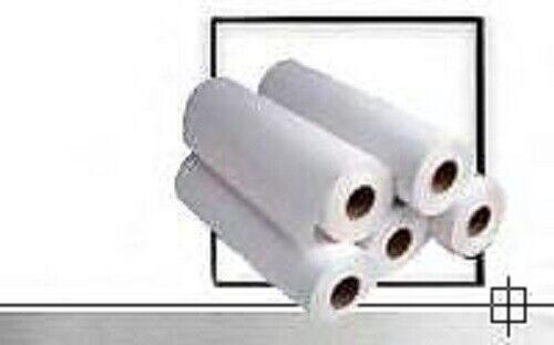 "2 Rolls 34/"" x 500/' thirty-four/"" 3/"" core 20lb Bond Paper Xerox Ricoh Oce KIP"