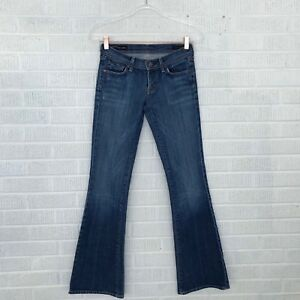 Women Wash Waist of Humanity Medium Flare Jeans Blu Størrelse Low Ingrid Citizens 26 H0pSWxqwwE
