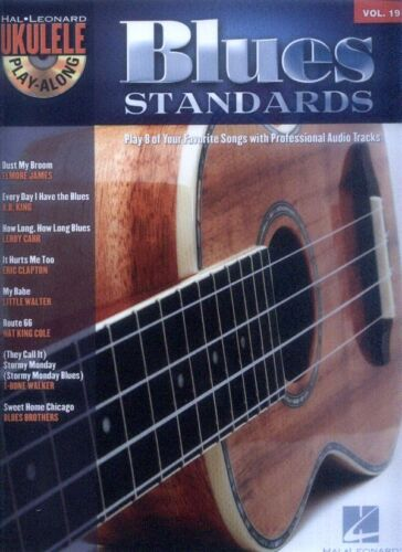Ukulele Uke Play-Along #19 Blues Standards Songbook Noten mit CD