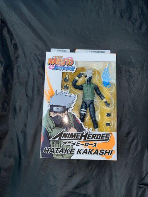 """Bandai Anime Heroes Naruto Shippuden Hatake Kakashi 6"""" Action Figure"""