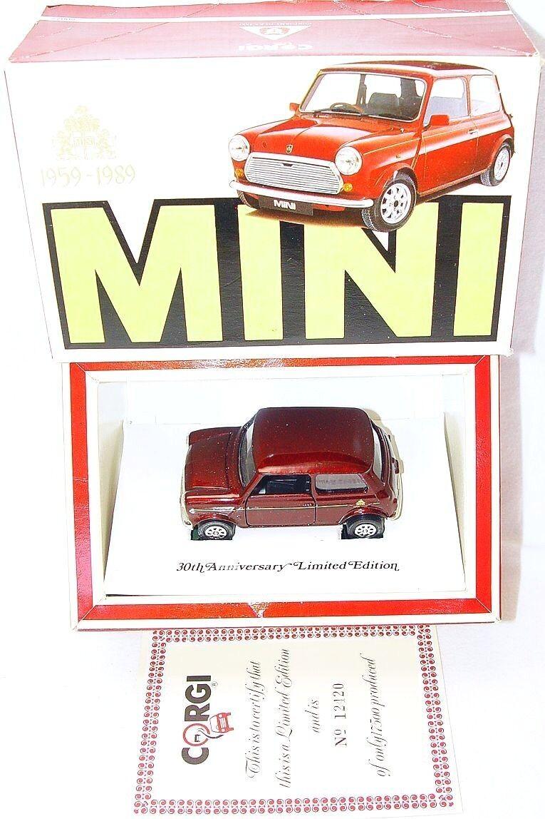 Corgi Toys 1 36 Morris Mini Cooper 30th aniversario edición Rover Coche MIB`89