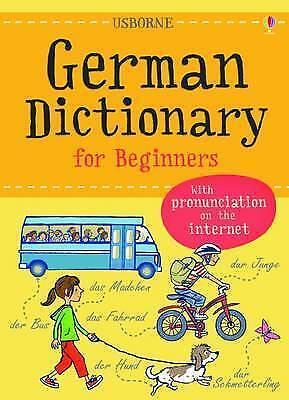 German (Usborne Beginner's Dictionaries)-ExLibrary