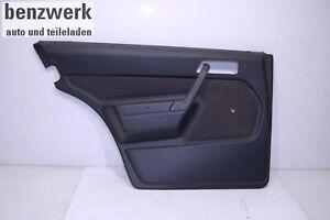 Mercedes-W201-190-Mopf0-bis-08-88-Tuerverkleidung-hinten-links-Stoff-schwarz
