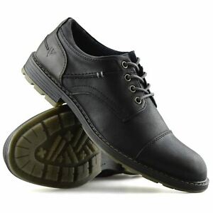 mens smart casual comfort lace up work office formal derby