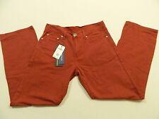 M87 NWT DO PREMIUM Red Denim Jeans MEN'S 33 x 32
