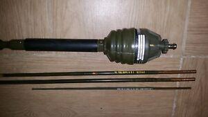 Antennenfuss-SEL-und-3-Antennenstaebe-Antenne-Munga-Jeep-Iltis-BW-Fahrzeugantenne