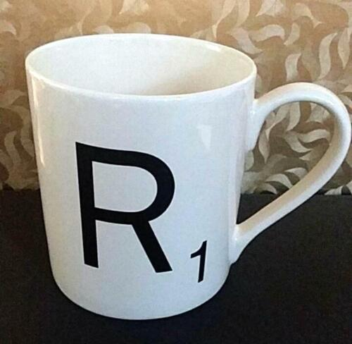 Wild /& Wolf Scrabble Coffee Mug Cup Alphabet R E A L