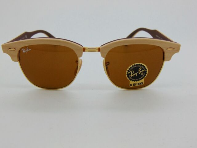 ray ban clubmaster wood