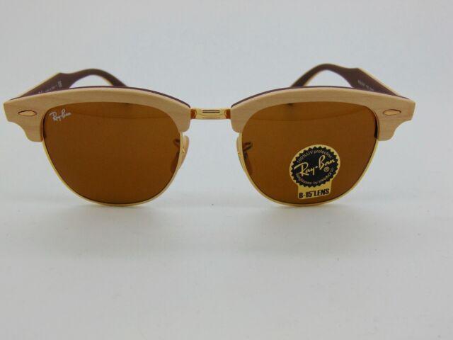09e7cc317da Ray Ban Clubmaster Wood 3016m RAYBAN 1181 Cherry Wayfarer Sunglasses ...