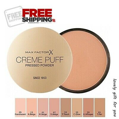 Fin New Max Factor Creme Puff Pressed Face Powder Unboxed 21g SELECT 9 WZ-13