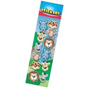 12-x-Wild-Animals-Stickers-Zoo-Jungle-Party-Bag-Fillers