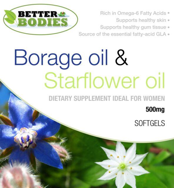 Olio Di Borraggine Starflower Capsule 500mg