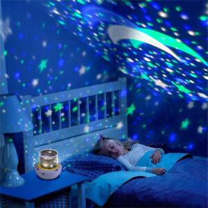 Magic-LED-Light-Projector-Star-Moon-Sky-Baby-Kids-Night-Mood-Lamp-Xmas-Gifts-UK