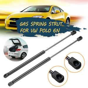 Pair Tailgate Boot Gas Springs Struts Black For VW Polo 6N 1996-2001  Y New
