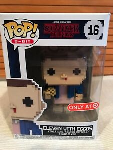 Details about Funko Pop ELEVEN WITH EGGOS #16 Stranger Things TARGET  EXCLUSIVE