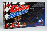 Afx Giant Raceway Mg+ Ho Slot Car Set Digital Lap Counter Tri-power 21017
