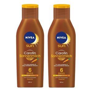 NIVEA-SUN-carotene-SPF-6-SUN-Latte-Pacco-da-2-2-x-200-ML