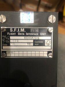 FLIGHT DATA I/FACE FDIU ED43A1D5 AIRBUS A320