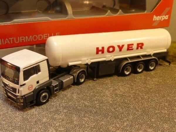 1 87 Herpa MAN TGS L Euro 6 C C C Réservoir semi-remorque HOYER GNL 308618 2e1d5f