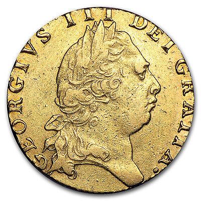 1795 Great Britain Gold Guinea George III XF