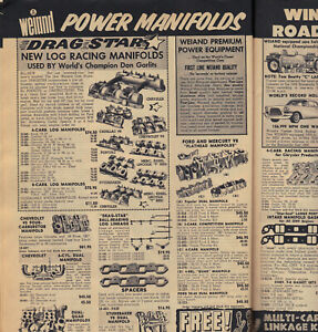 Original 1959 HOT ROD & Custom Catalog Ford Drag Racing scta Dirt Track Vintage
