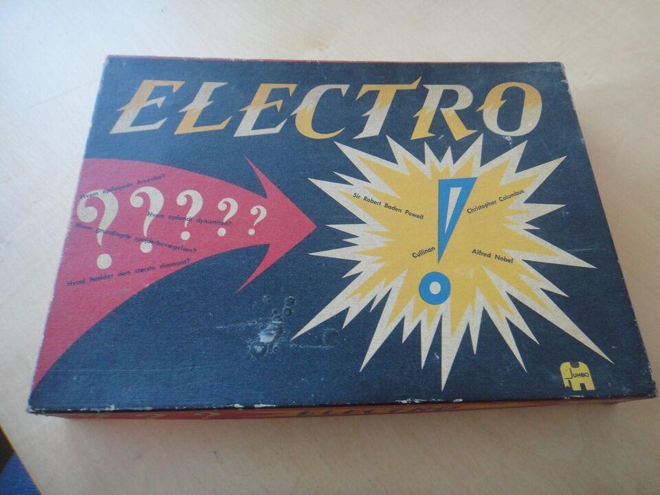 Andet legetøj, ELECTRO - gammelt elektrisk quiz-spil,