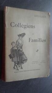 Studenti-Delle-Scuole-Medie-E-Famiglie-F-Riscontro-Tolosa-Parigi-1910