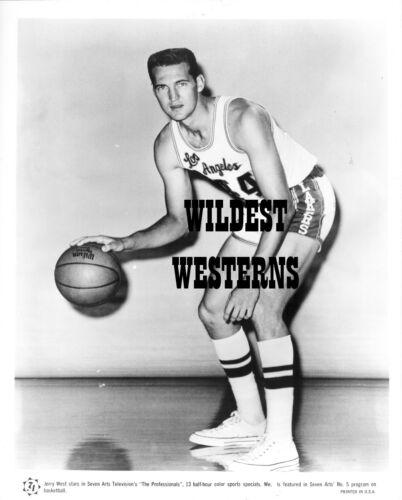 Rare JERRY WEST Vintage ORIGINAL NBA Photo L.A. LAKERS