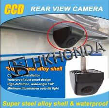 Black Car Rear View CCD 170° Front Back Camera Reverse Backup Park For Toyota