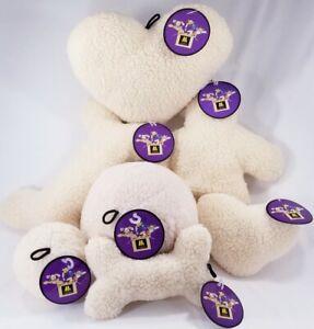 MultiPet-2-Squeaker-Fleece-Dog-Toy-Toys-Man-Ball-in-B53-Bone-Heart-in-B52-Puppy