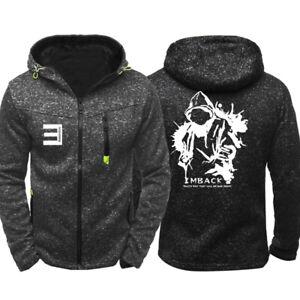 Hip-hop Eminem Mens Sweatshirt Hoodie Coat Hooded Jacket Sweater Pullover Tops