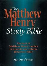 The Matthew Henry Study Bible: King James Version-ExLibrary