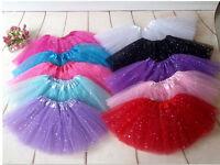 Girls Ballet Tutu Princess Dress Up Dance Wear Costume Party Endearing  Skirt