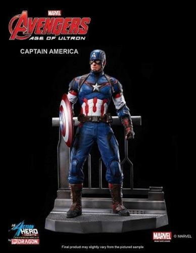 DRAGON 38149 Marvel Captain America Age of Ultron 1 9 Model Figure Kit FREE SHIP
