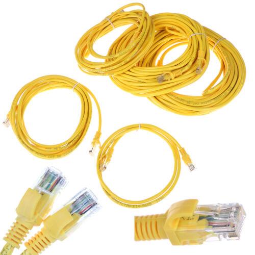 1M-5M Cat5e UTP RJ-45 yellow network cable patch cord ethernet cab LA