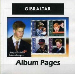 Gibraltar - CD-Rom Stamp Album 1886-2017 Color Illustrated Album Pages