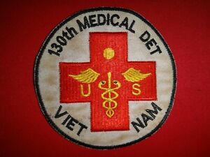 VIETNAM-War-US-Army-130th-Medical-Detachment-VIETNAM-Patch