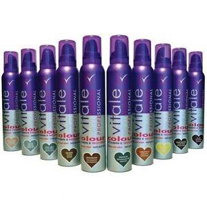 Vitale Professional Hair Colour Mousse 200ml Various